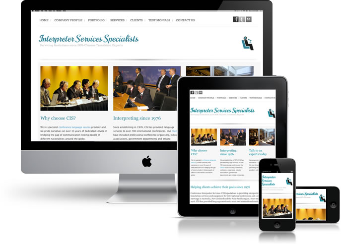 CIS Responsive Website Design